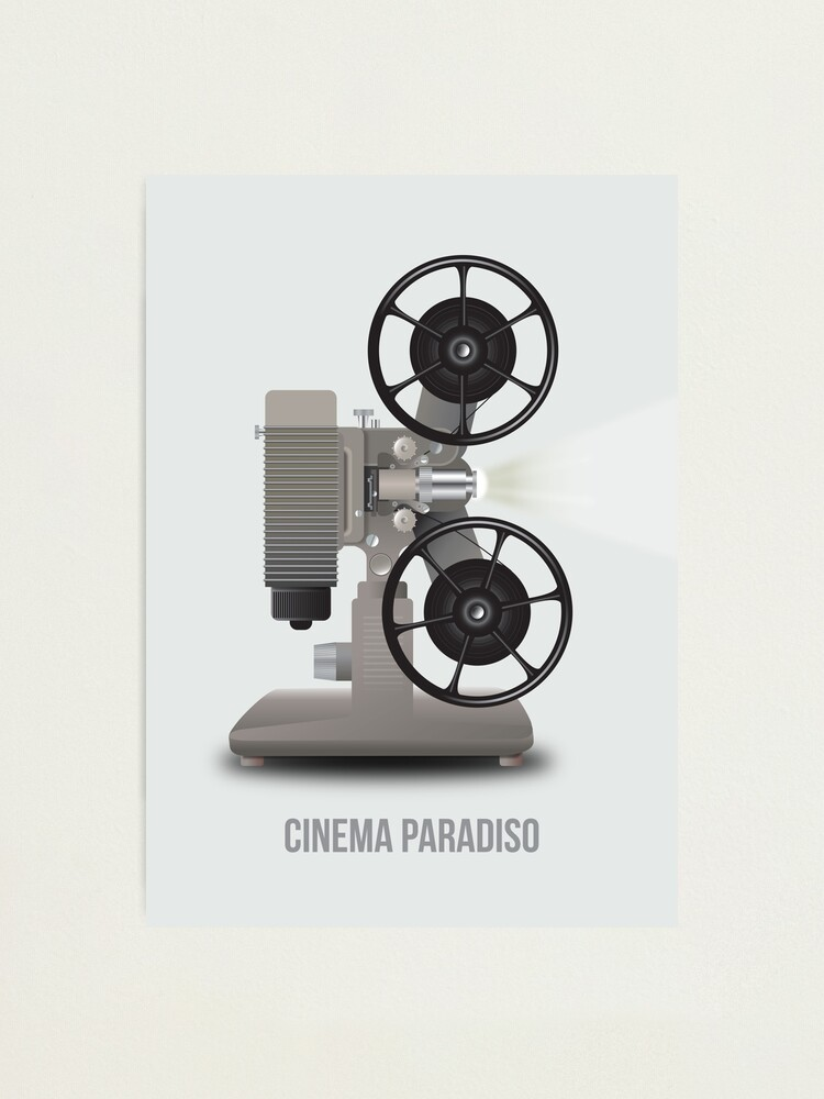 Alternate view of Cinema Paradiso - Alternative Movie Poster Photographic Print
