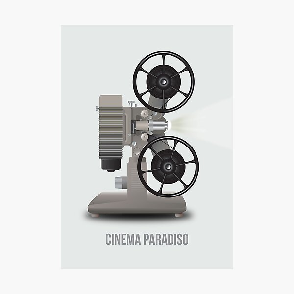 Cinema Paradiso - Alternative Movie Poster Photographic Print