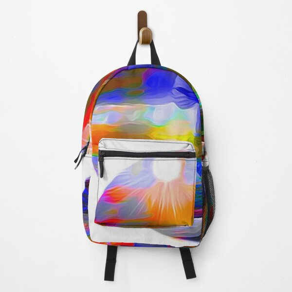 Seascape with Seagull Backpack