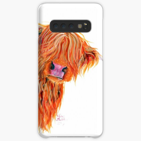 HIGHLAND COW 'PEEKABOO' BY SHIRLEY MACARTHUR Samsung Galaxy Snap Case