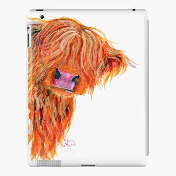 HIGHLAND COW 'PEEKABOO' BY SHIRLEY MACARTHUR iPad Snap Case