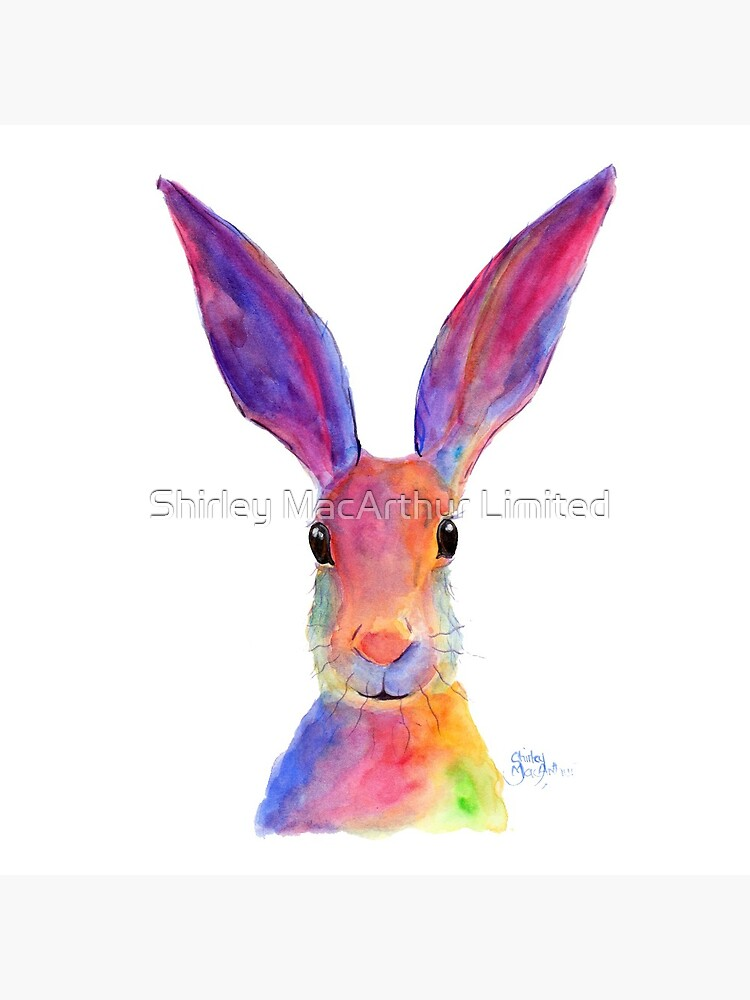 HARE RaBBiT PRiNTS 'JELLY BEAN' BY SHIRLEY MACARTHUR by ShirleyMacA