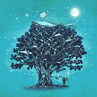 Deep Tree Diving  by Terry  Fan