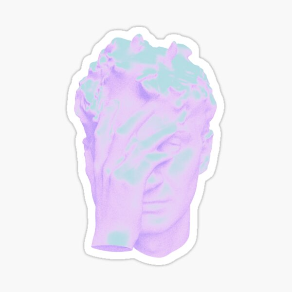 Dave Head Glass Animals Holographic Sticker