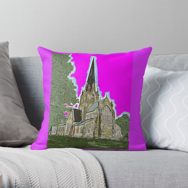 Christ Church Cathedral  Throw Pillow