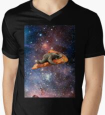 Pizza Sloth In Space T-Shirt