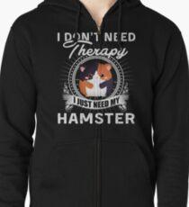 HAMSTER Zipped Hoodie