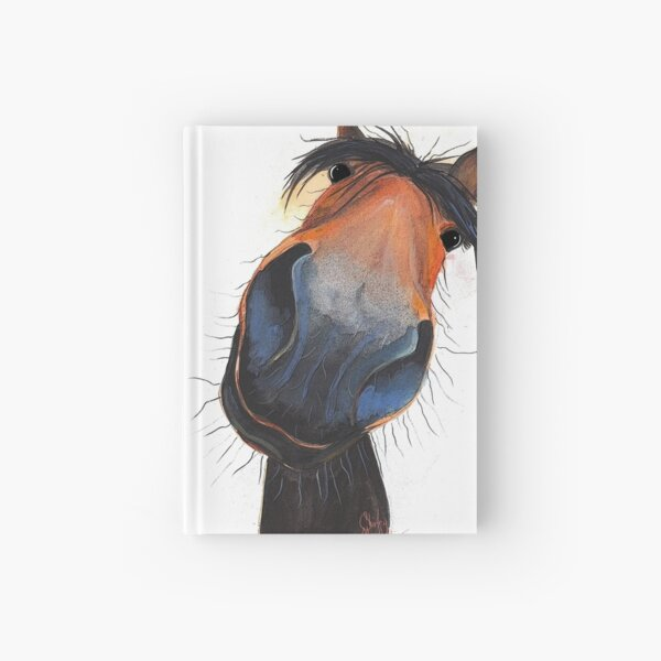 HORSE PRiNT 'HAPPY DAVE' BY SHIRLEY MACARTHUR Hardcover Journal