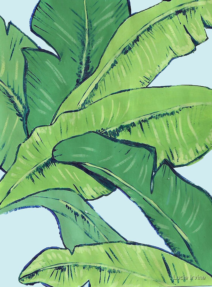 Banana Leaves by Lucie Irvine