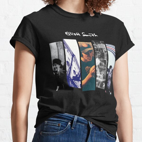 Elliott Smith - Album Discography Series  Classic T-Shirt