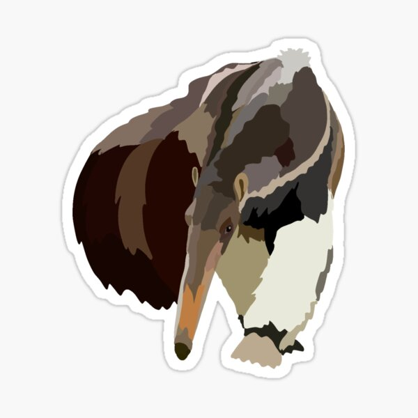 A is for Anteater  Sticker