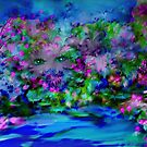 Secret Eyes In The Garden by Sherri Palm Springs  Nicholas
