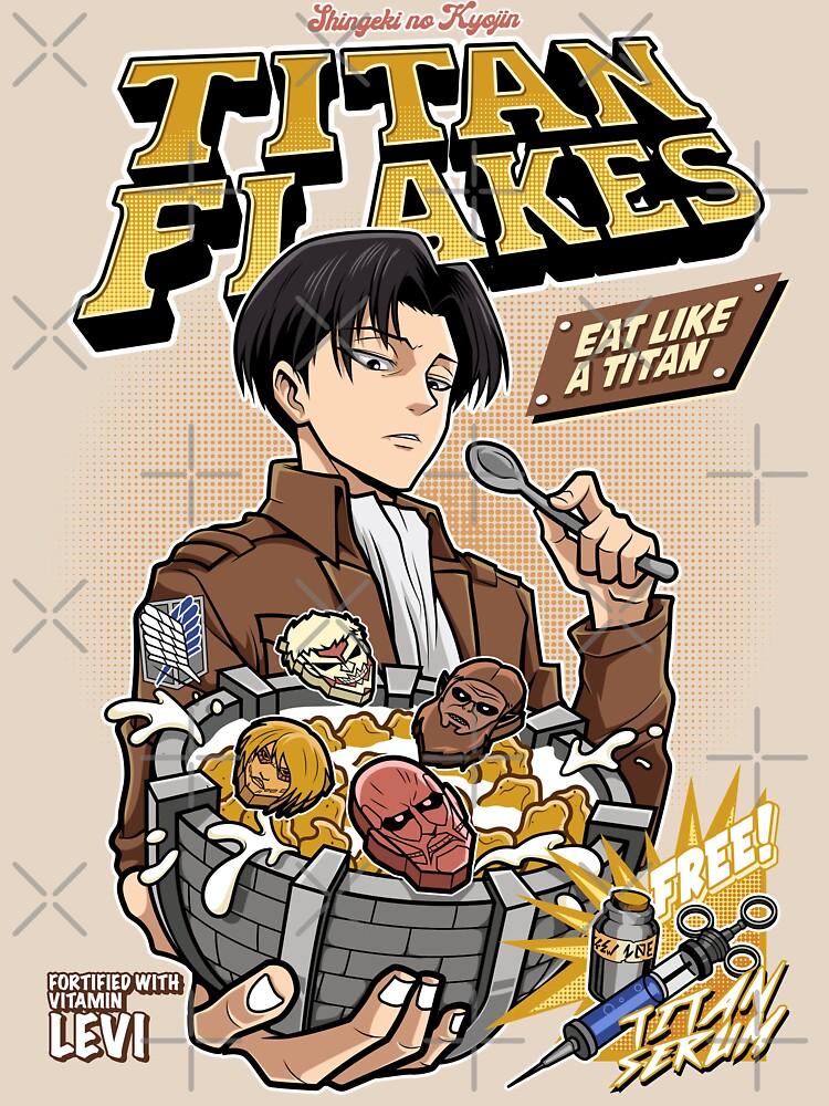 Titan Flakes ( Shingeki no Kyojin )  by KenHensly