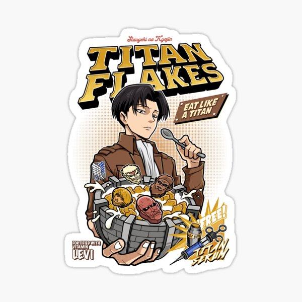Titan Flakes ( Shingeki no Kyojin )  Sticker