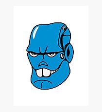 Robot monster cool comic face Photographic Print