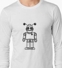 Cool funny robot toy fun Long Sleeve T-Shirt