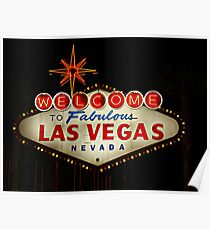 THE Las Vegas Sign Poster