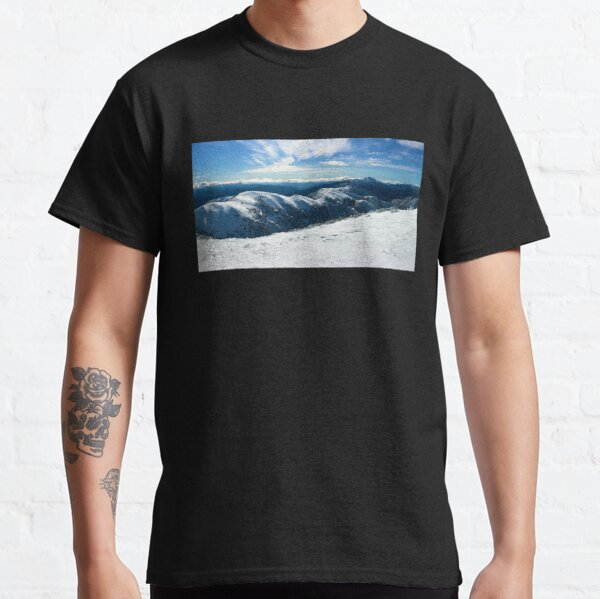 The Razorback to Mt Feathertop, Mt Hotham Classic T-Shirt