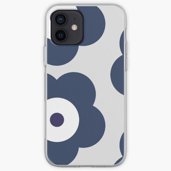 Odd Cross Blue Sunflower Goes On Bubble Merch iPhone Soft Case