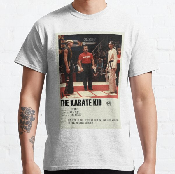 The Karate Kid (1984) Alternative Poster Art Movie Large (5) Classic T-Shirt
