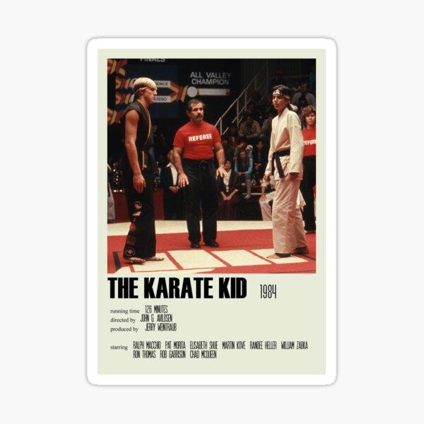 The Karate Kid (1984) Póster alternativo Art Movie Large (5) Pegatina