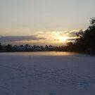 Snow On The School Field by Elly190712