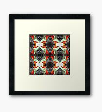 PILLOW FLOWER Framed Print