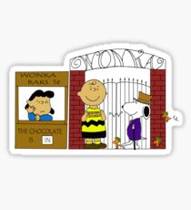Charlie Brown and the Chocolate Factory Sticker