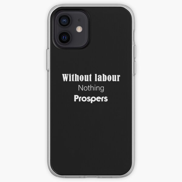 Labour Day iPhone Soft Case