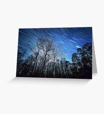 Alabama Night Sky Greeting Card