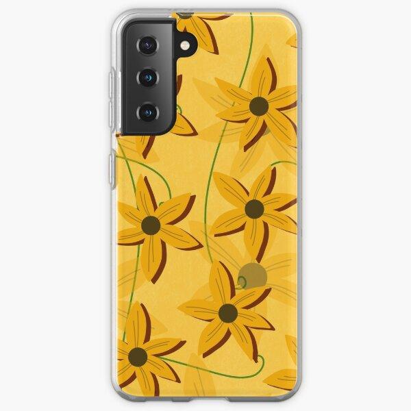 Sunflower Pattern  Samsung Galaxy Soft Case