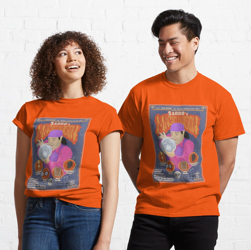 Sardo's Magic Mansion! Classic T-Shirt