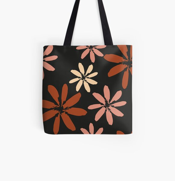 Autumn flowers All Over Print Tote Bag