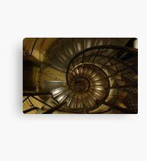 The Spiral Staircase at the Arc de Triumph Canvas Print