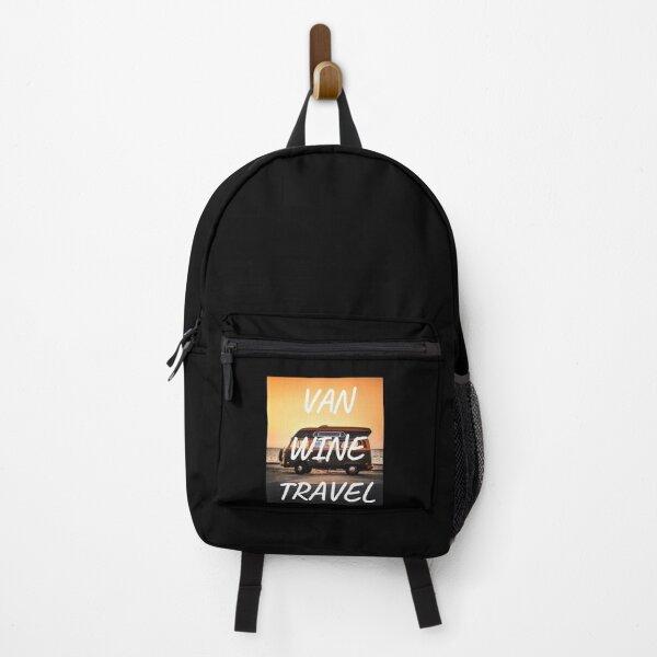 van wine travel  Backpack