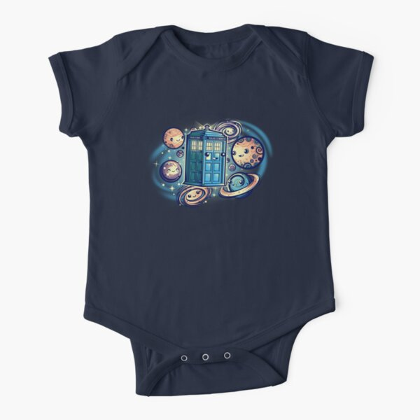 Friends in the Space NEW Short Sleeve Baby One-Piece