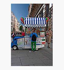 Gelateria Italiana Photographic Print