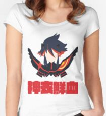 Kamui Senketsu Women's Fitted Scoop T-Shirt