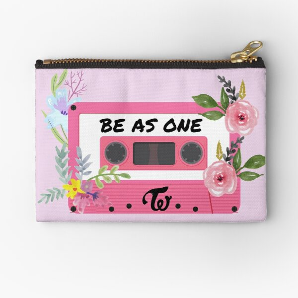 Aesthetic twice be as one tape design Zipper Pouch