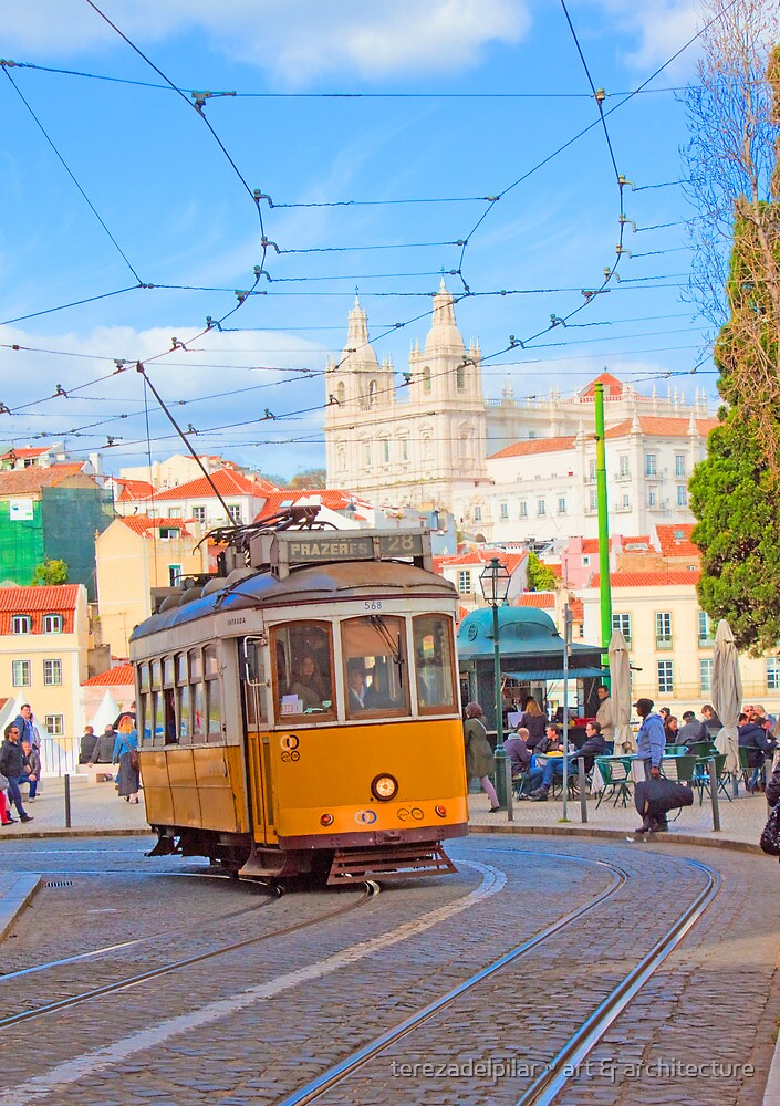 28. tram in Lisbon by terezadelpilar ~ art & architecture