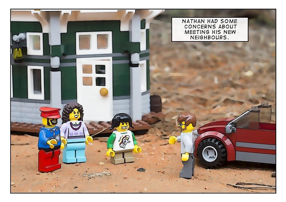 New Neighbours by Bean Strangeways