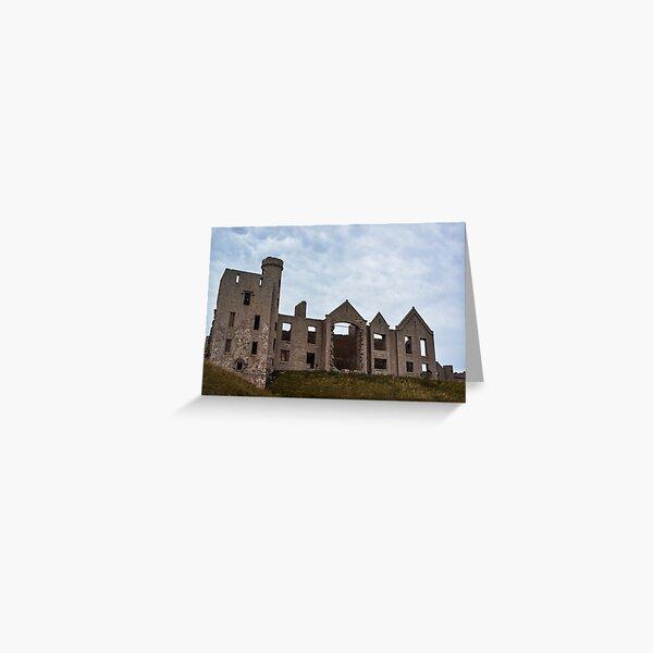 Slains Castle, Aberdeenshire, Scotland Greeting Card