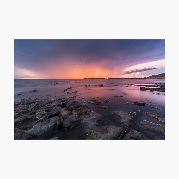 East Point Glow Photographic Print