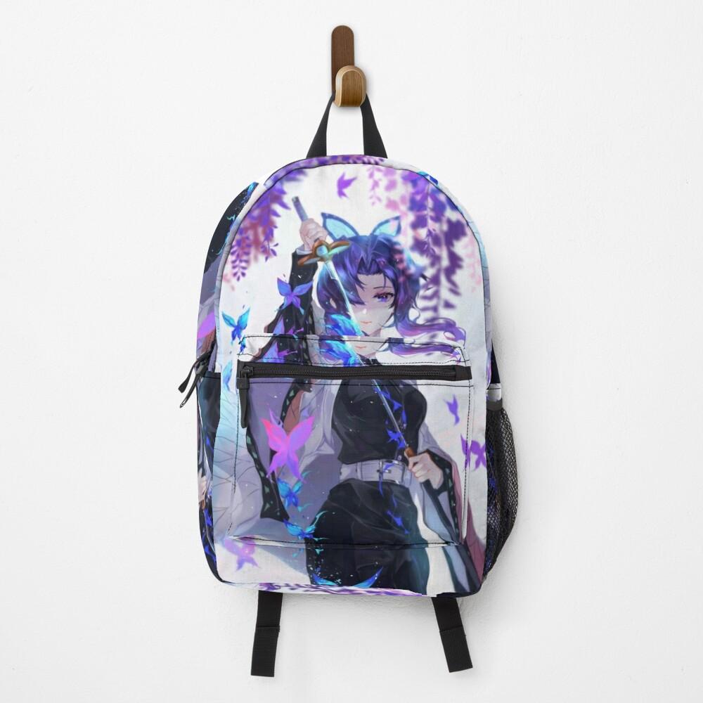 Shinobu Kocho Demon Slayer Backpack