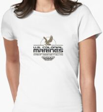 Colonial Marines Women's Fitted T-Shirt