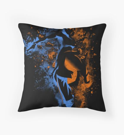 Bending Legeng Throw Pillow