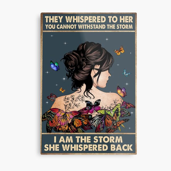 They Whispered to Her Metal Print