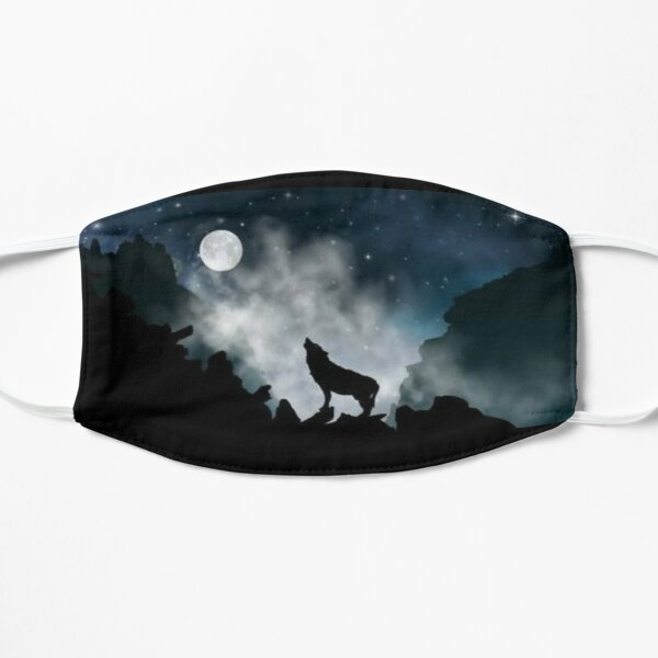 Howling Wolf Moon Mask