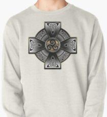 Black Celtic Cross Pullover
