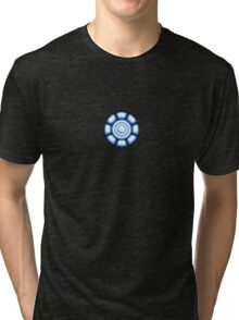 Power Coil Chest Tri-blend T-Shirt